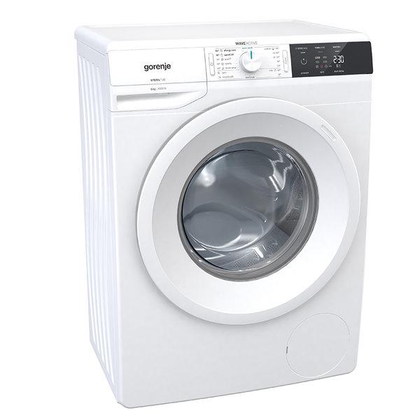 Пералня Gorenje WE60S3 , 1000 об./мин., 6.00 kg, A+++ , Бял
